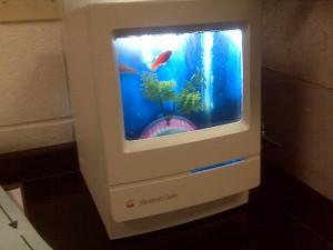 Mac turned into an aquarium