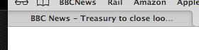Treasury to close loo...