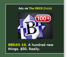 ad with iOS new mails graphic