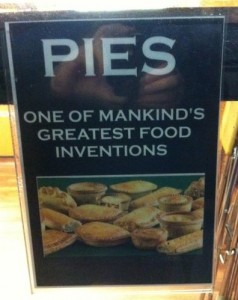 PIES: One of mankind's greatest food inventions