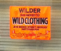 """Wlider"" has moved to ""Wild Clothing"""