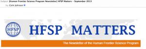 HFSP Matters