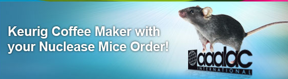Free Coffee Maker with your Nuclease Mouse Order
