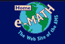 e-math: The Web Site of the AMS