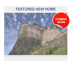 Featured new home: Edinburgh Castle