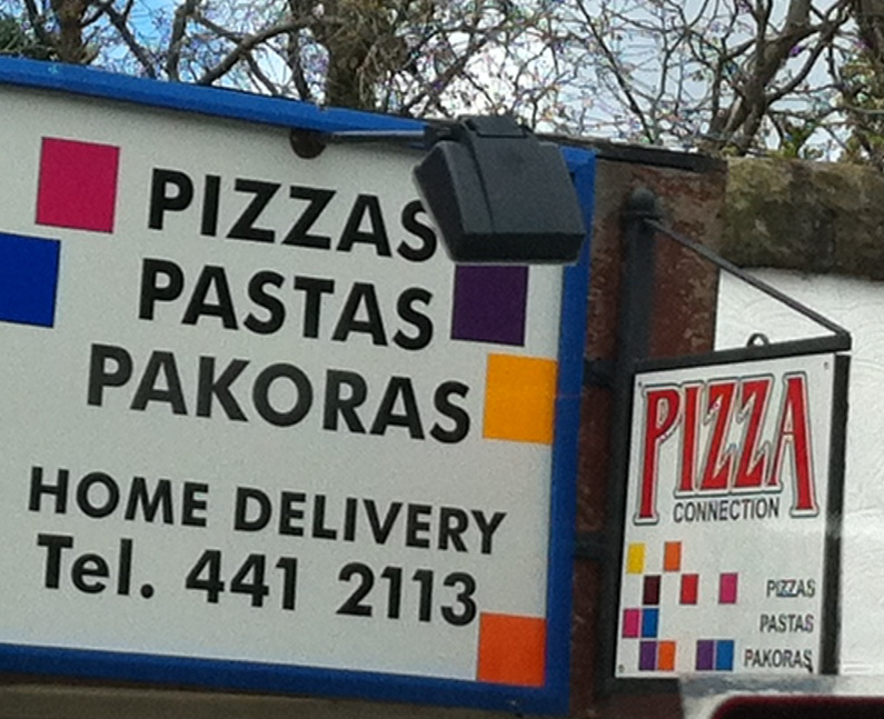 """Pizzas, Pastas and Pakoras"""